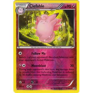 Clefable - 51/83 (Reverse Foil)