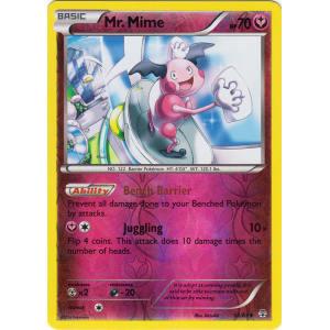 Mr. Mime - 52/83 (Reverse Foil)