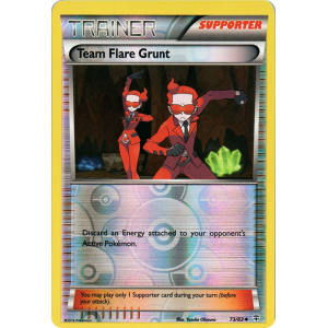 Team Flare Grunt - 73/83 (Reverse Foil)