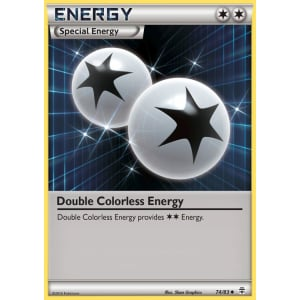 Double Colorless Energy - 74/83