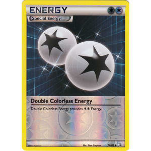 Double Colorless Energy - 74/83 (Reverse Foil)