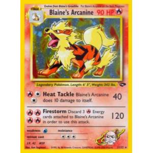 Blaine's Arcanine - 1/132