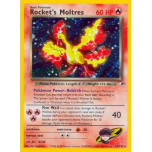 Rocket's Moltres - 12/132