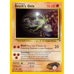 Brock's Onix - 21/132