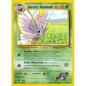 Sabrina's Venomoth - 34/132
