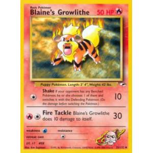 Blaine's Growlithe - 35/132