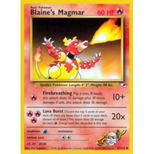 Blaine's Magmar - 37/132