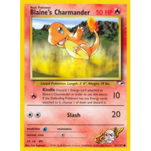 Blaine's Charmander - 61/132
