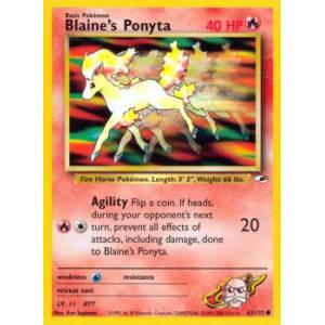 Blaine's Ponyta - 63/132