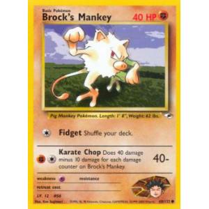 Brock's Mankey - 68/132