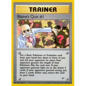 Blaine's Quiz #1 - 97/132
