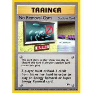 No Removal Gym - 103/132