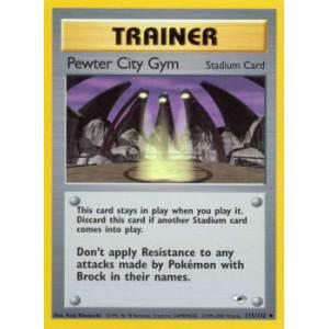 Pewter City Gym - 115/132