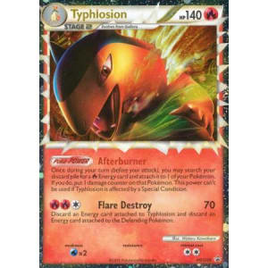 Typhlosion (Prime) - HGSS09