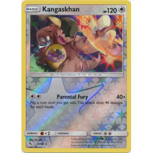 Kangaskhan - 47/68 (Reverse Foil)