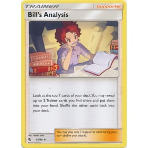Bill's Analysis - 51/68