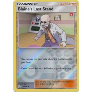 Blaine's Last Stand - 52/68 (Reverse Foil)