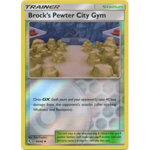 Brock's Pewter City Gym - 54/68 (Reverse Foil)