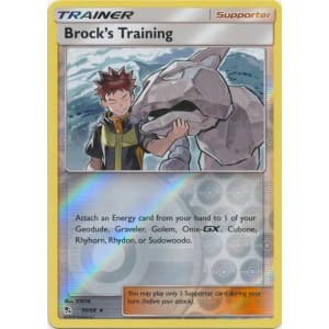 Brock's Training - 55/68 (Reverse Foil)