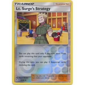 Lt. Surge's Strategy - 60/68 (Reverse Foil)