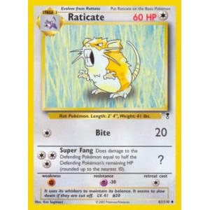 Raticate - 61/110