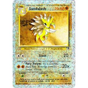Sandslash - 62/110 (Reverse Foil)
