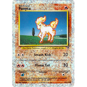 Ponyta - 87/110 (Reverse Foil)