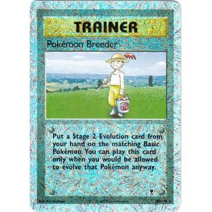 Pokemon Breeder - 102/110 (Reverse Foil)