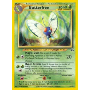 Butterfree - 19/75