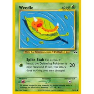 Weedle - 70/75