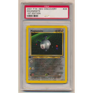 Magnemite - Graded Neo Discovery First Edition 26/75