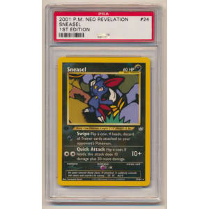 Sneasel - Graded Neo Revelation First Edition 24/64