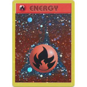 Fire Energy - Starfoil Promo