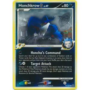 Honchkrow G - 77/127 (Reverse Foil)