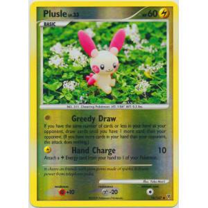Plusle - 76/147 (Reverse Foil)