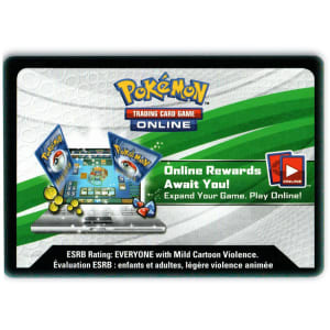 Pokemon Online TCGO Kangaskhan-GX Box Unused Code Card