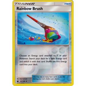 Rainbow Brush - 141/168 (Reverse Foil)