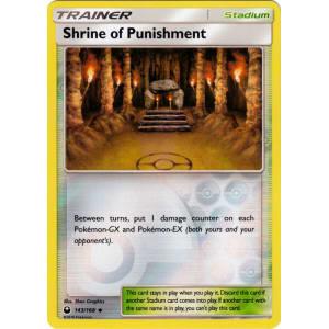 Shrine of Punishment - 143/168 (Reverse Foil)