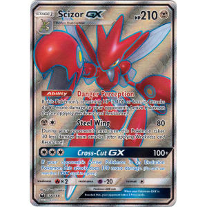 SM Celestial Storm Full Art Scizor GX 158//168 Pokemon
