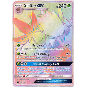 Shiftry-GX (Hyper Rare) - 169/168