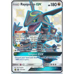 Rayquaza-GX (Shiny) - 177a/168