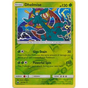 Dhelmise - 22/168 (Reverse Foil)