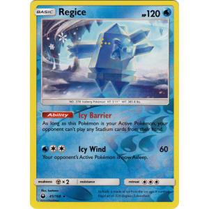 Regice - 45/168 (Reverse Foil)