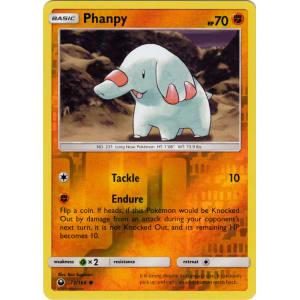 Phanpy - 72/168 (Reverse Foil)