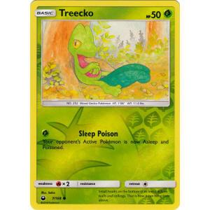 Treecko - 7/168 (Reverse Foil)