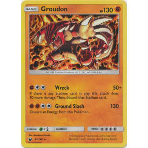 Groudon - 81/168