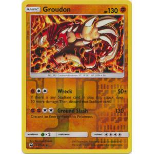 Groudon - 81/168 (Reverse Foil)