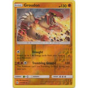 Groudon - 113/236 (Reverse Foil)