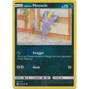 Alolan Meowth - 128/236 (Reverse Foil)