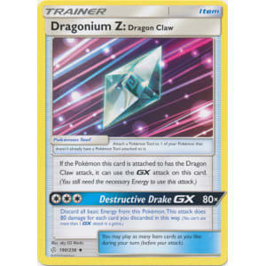 Dragonium Z: Dragon Claw - 190/236